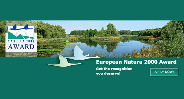 European Natura 2000 Award - Apply Now