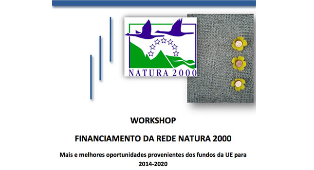 Workshop Financiamento da Rede Natura 2000