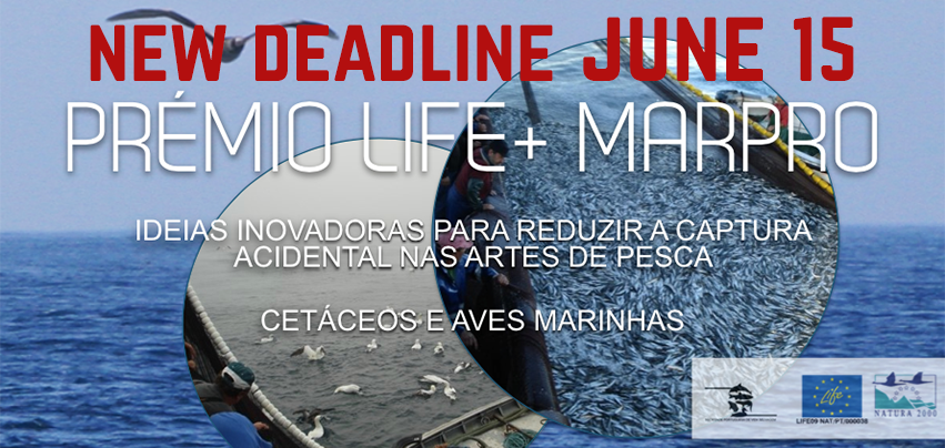New LIFE+ MarPro Award Deadline - June 14, 2014