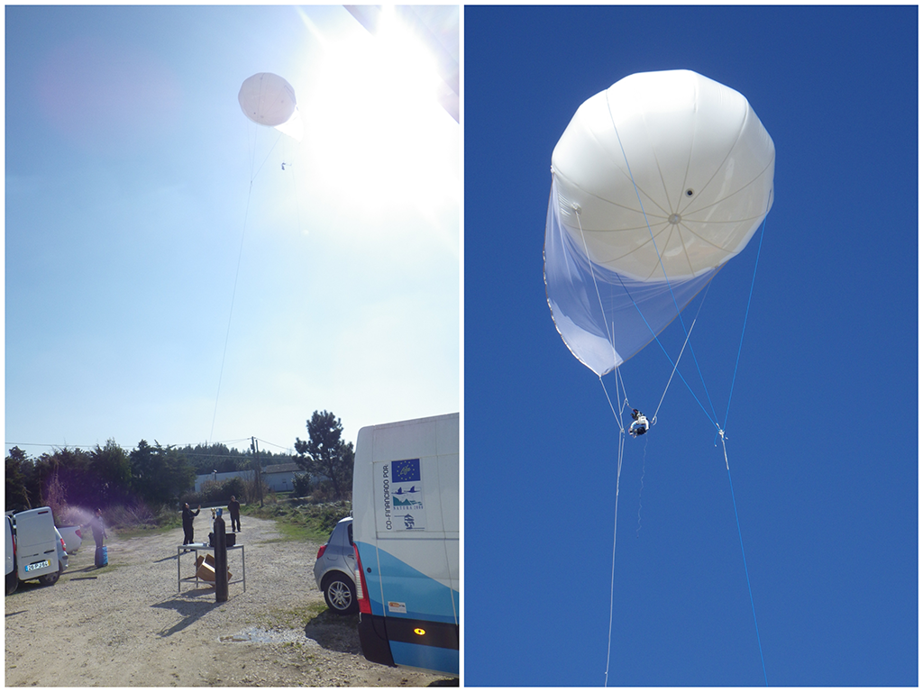 Aerostat monitoring - First trial