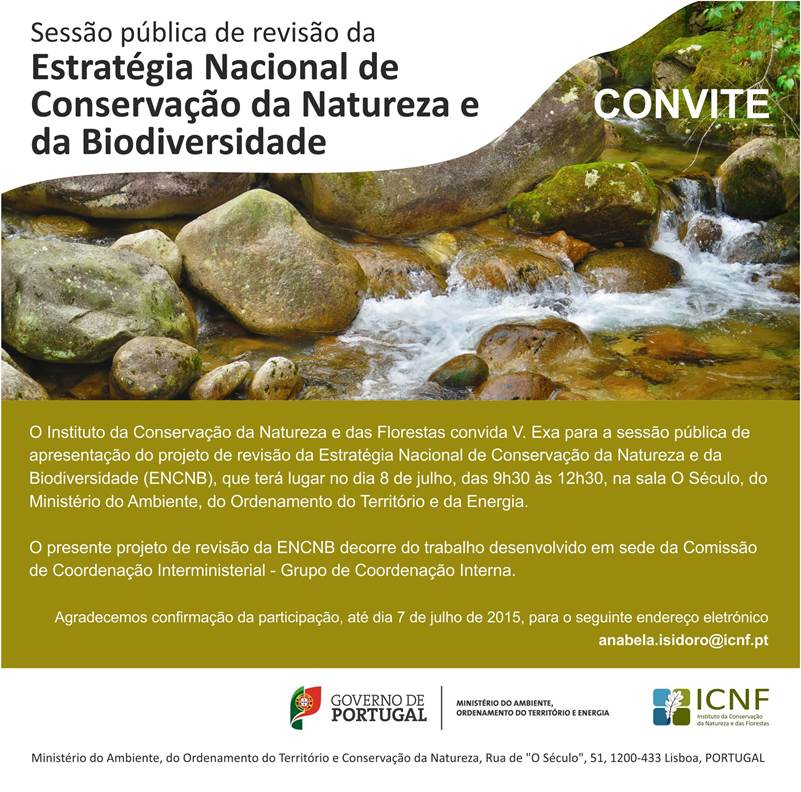Public Session to review the National Strategy for the Conservation of Nature and Biodiversity