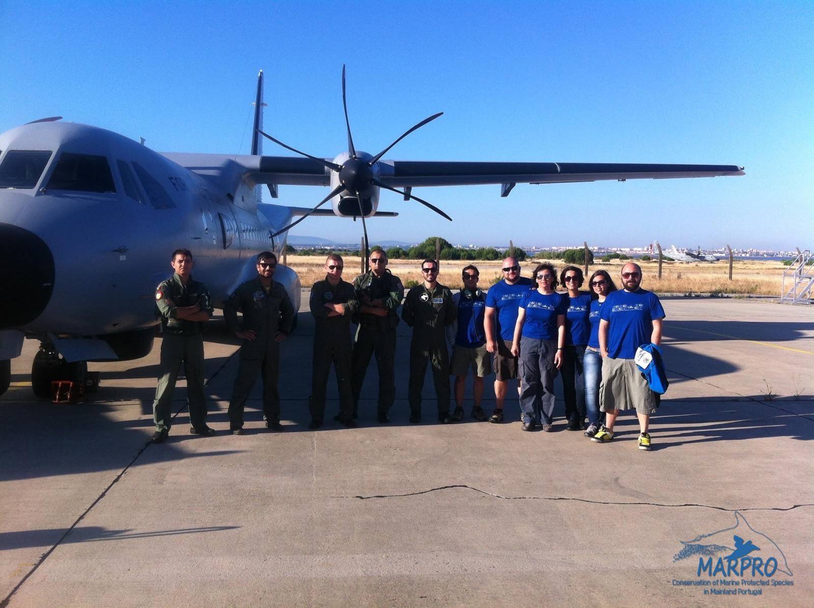 Aerial offshore census campaign in cooperation with the Portuguese Air Force